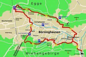 Der Eggetaler Rundwanderweg
